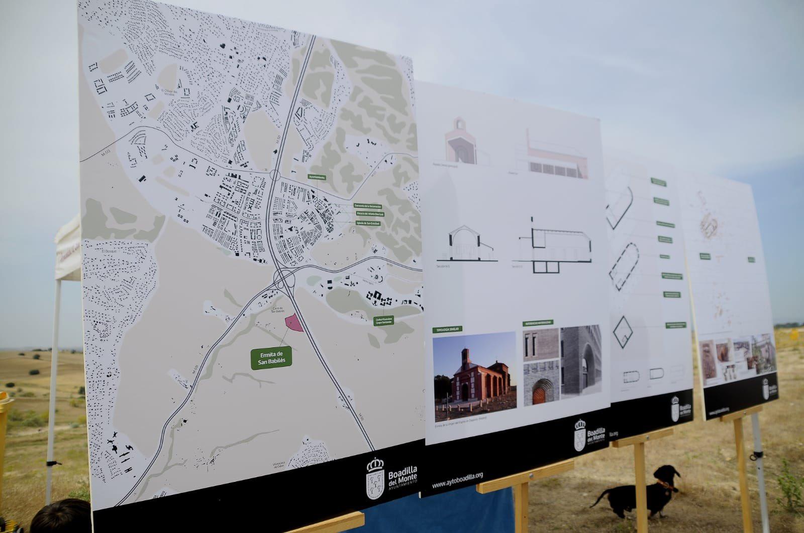 Proyecto de la nueva ermita de San Babilés