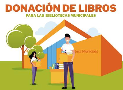 Campaña de donación de libros a las bibliotecas de Boadilla