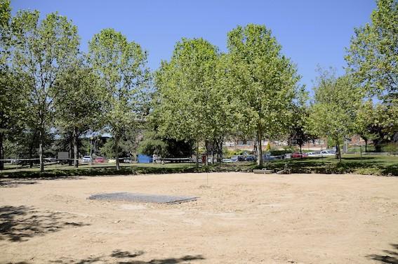 El parque Alejandro de la Sota de Boadilla contará con un barco multiaventura, una isla con columpios y un faro con toboganes
