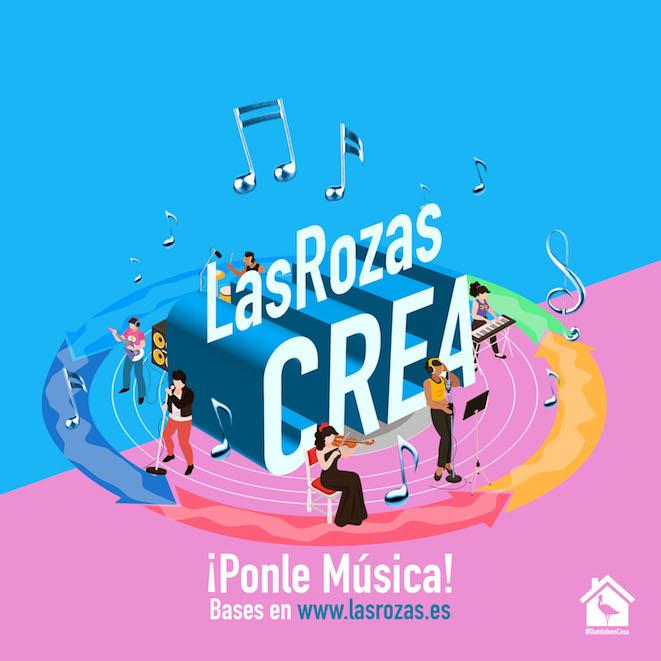 Participa en el concurso de creaciones musicales Las Rozas Crea