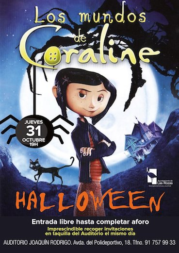Un Halloween de cine en el Auditorio de Las Rozas