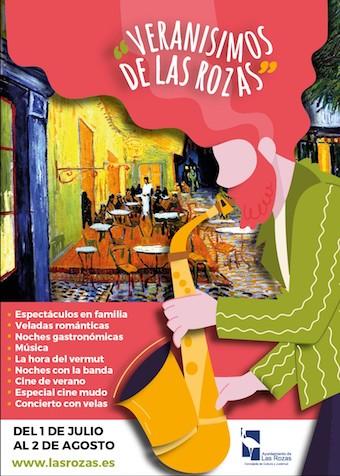 Veladas románticas y gastronómicas, cine al aire libre y la hora del Vermut en los Veranísimos de Las Rozas