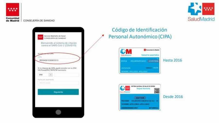 Madrid permitirá elegir lugar, día y hora para vacunarse contra el COVID-19