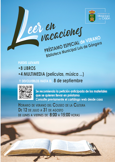 Préstamo especial de verano en la biblioteca de Villaviciosa