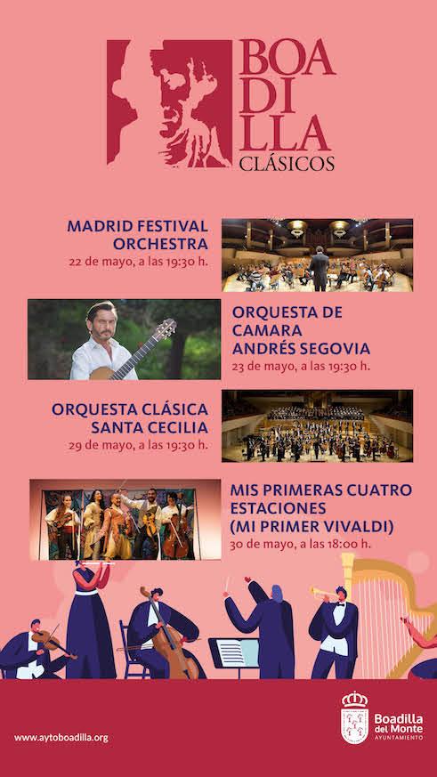 Especial Orquestas en el Auditorio de Boadilla