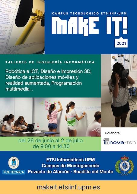 Un 10% de descuento para alumnos de Boadilla en el Campus tecnológico de la Politécnica este verano