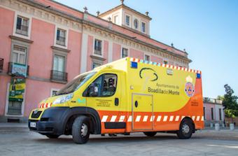 Los servicios de emergencias de Boadilla tardan menos de 4 minutos en atender una urgencia