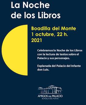 El Infante Don Luis protagonista de la Noche de Los Libros en Boadilla