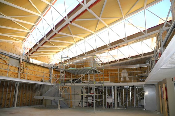 La biblioteca teatro Princesa Doña Leonor abrirá a principios de 2021