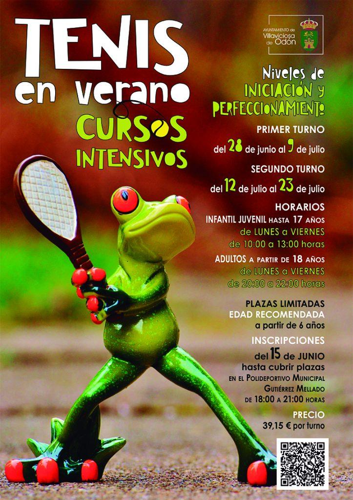 Juega al tenis este verano en Villaviciosa