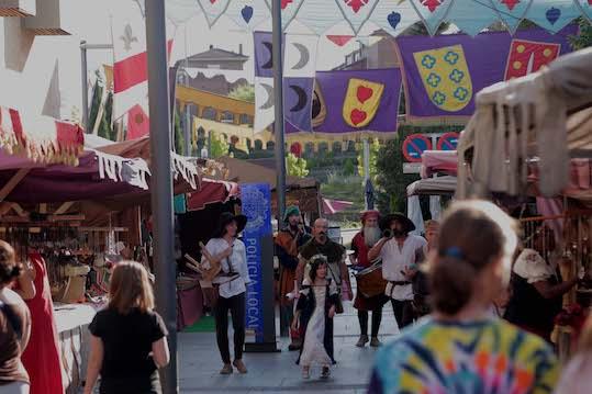 Regresa el Mercado Medieval a Boadilla