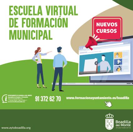 Más de 2.000 vecinos de Boadilla han realizado cursos este año en la Escuela de Formación Virtual
