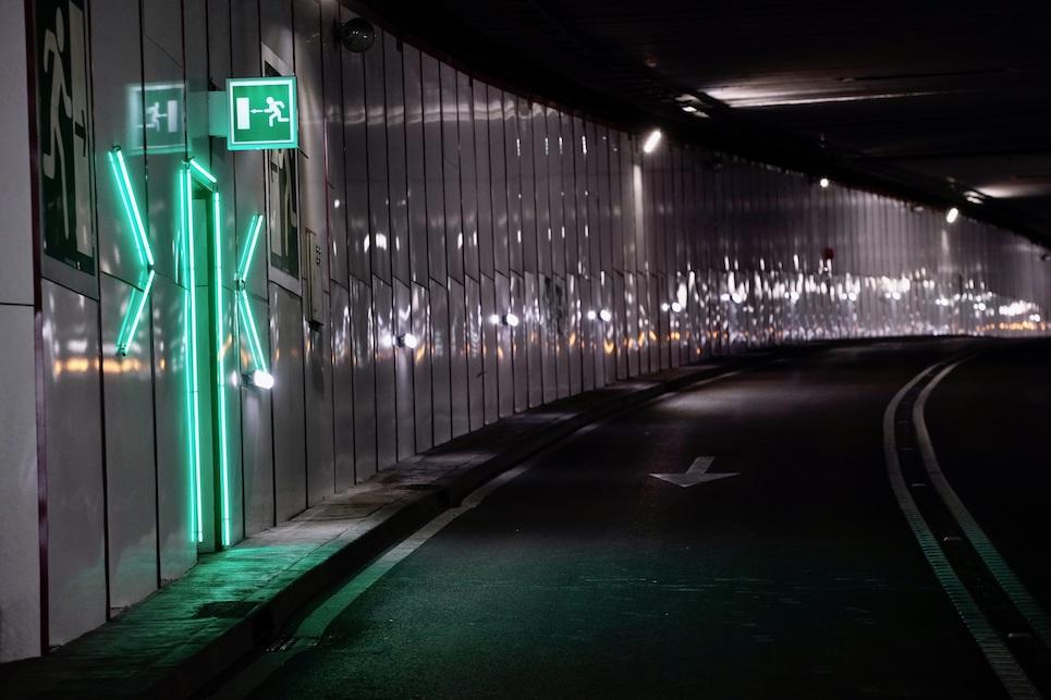 Nuevo sistema de seguridad con inteligencia artificial para el túnel de la calle Real de Las Rozas