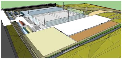 """El nuevo complejo deportivo de El Cantizal contará con pistas de parkour, calistenia, """"Chase-tag"""" y """"slackline"""""""