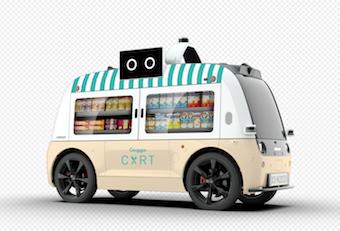 Un food truck sin conductor circulará por primera vez en España por el centro de Las Rozas