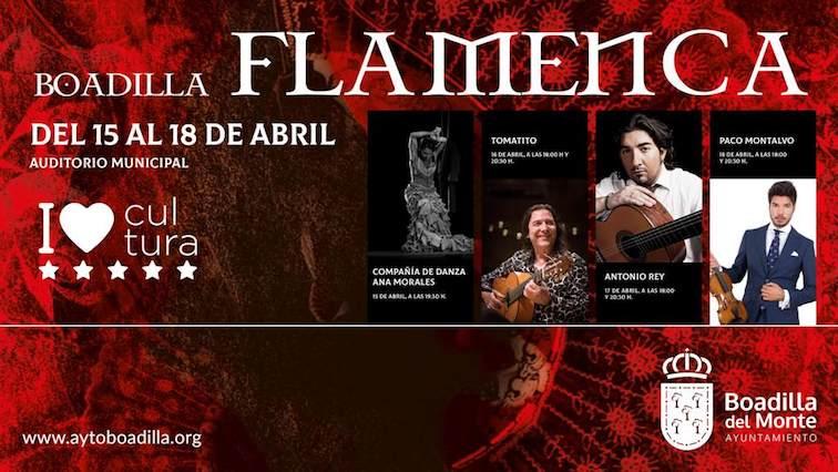 Boadilla celebrará su Festival de Flamenco en abril