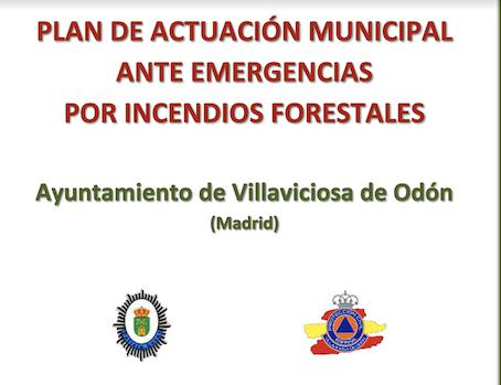 Nuevo Plan de Emergencias por Incendios Forestales de Villaviciosa de Odón