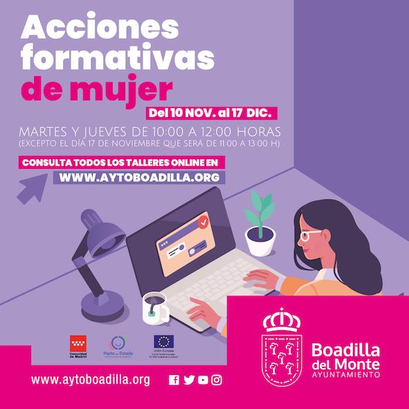 Empiezan los talleres online sobre emprendimiento y gestión de la incertidumbre en tiempos del coronavirus en Boadilla