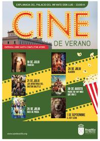 Cine de verano al aire libre en Boadilla