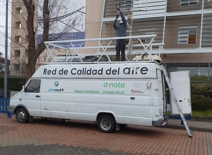La Comunidad de Madrid mide la calidad del aire en Pozuelo de Alarcón