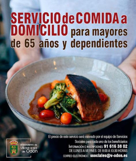 Villaviciosa pone en marcha el Servicio de Comida a Domicilio para mayores y dependientes