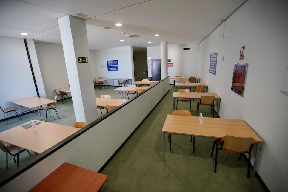 El Auditorio y Navalcarbón de Las Rozas se convierten en bibliotecas para la preparación de exámenes