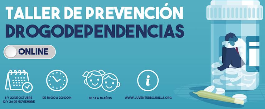 Boadilla impartirá talleres online para jóvenes sobre prevención de conductas adictivas