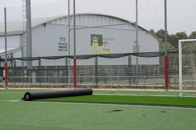 Los campos de fútbol Ángel Nieto de Boadilla, listos para jugar