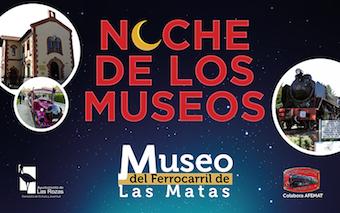 El Museo del Ferrocarril de Las Matas expone sus maquetas en la oscuridad