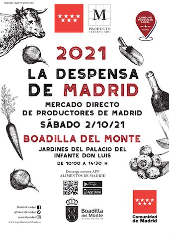 La Despensa de Madrid se instala en el Palacio de Boadilla este sábado