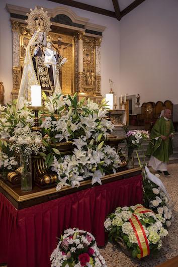 Pozuelo celebra hoy sus fiestas de la Virgen del Carmen con un programa de actos litúrgicos