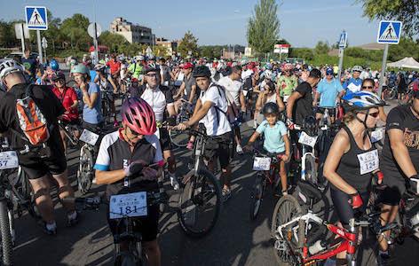 La Fiesta de la Bicicleta de Pozuelo cumple 40 años