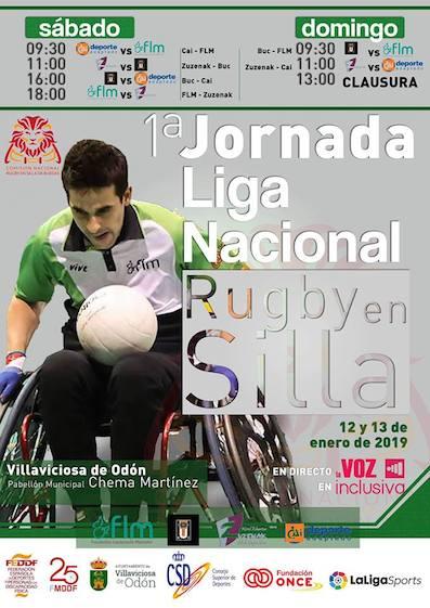 La Liga de Rugby en Silla de Ruedas arranca en Villaviciosa