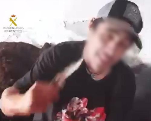 Roban un cordero y comparten un vídeo despellejándolo